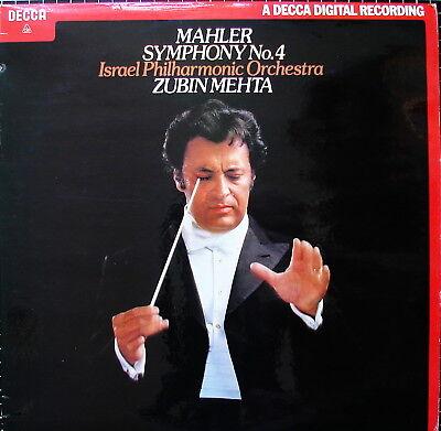 MAHLER Sinfonie Nr. 4 - HENDRICKS - MEHTA - NM-