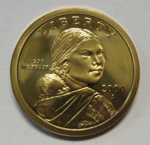 2000-S Sacagawea Golden Dollar Gem DCAM Proof Stunning Coin Bargain Priced