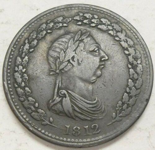 1812 Canada One Penny Token