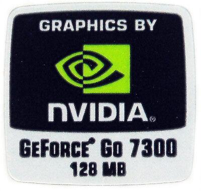 NVIDIA GEFORCE GO 7300  STICKER LOGO AUFKLEBER 18x18mm (803) gebraucht kaufen  Versand nach Germany