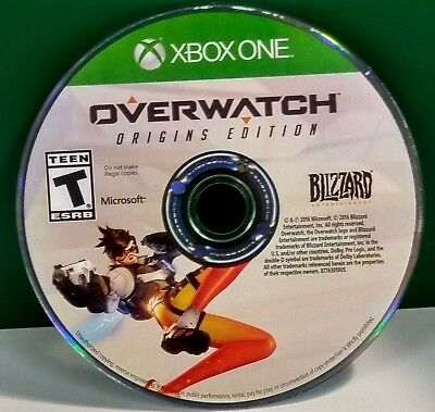 Overwatch  Origins Edition  Microsoft Xbox One  2016  Disc Only 11820