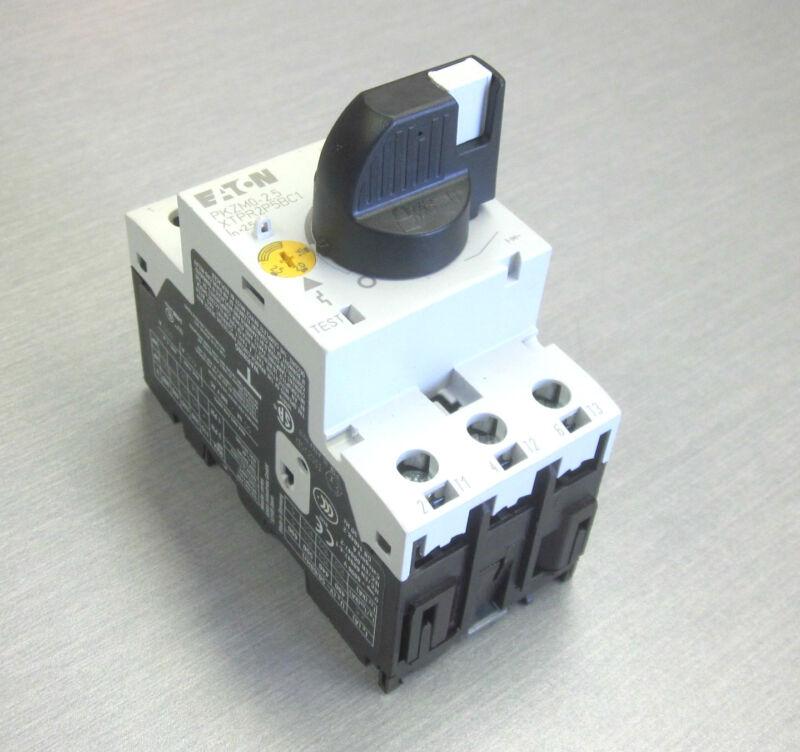 Eaton PKZM0-2.5 manual motor controller circuit breaker 2.5 amp XTPR2P5BC1