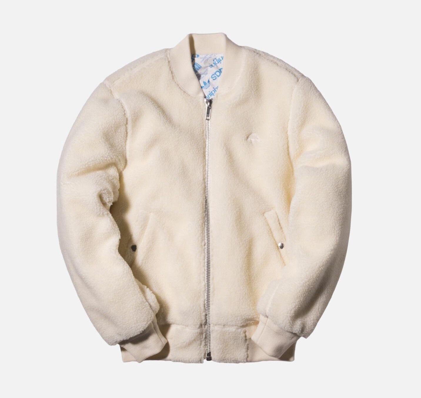 adidas Originals x Alexander Wang AW Reversible Fleece Boxy