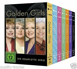 ❏ Golden Girls The Complete Series Season 1 - 7 DVD Collection ❏ 24 Disc Sealed