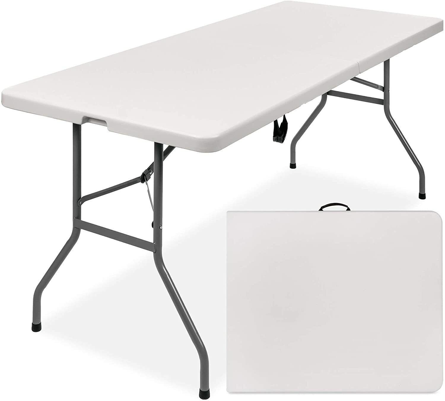 Best Choice Products 6ft Portable Folding Plastic Dining Tab