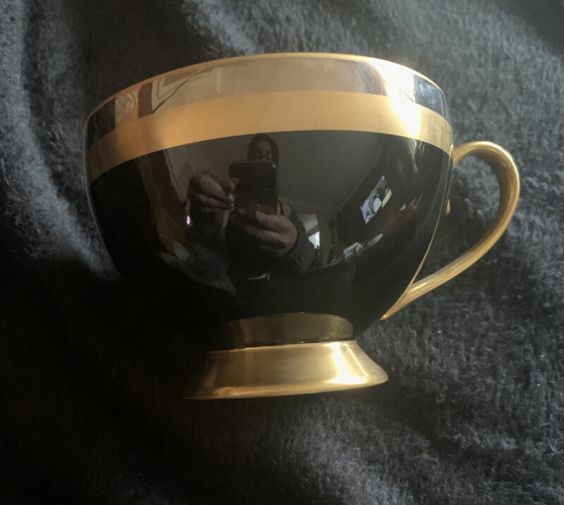 GORHAM fine china Midnight CONTESSA Cup and Made in Japan