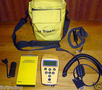 Trimble Geoexplorer Ii Handheld Gps Geoexplorer 2 Cables Soft Carrying Bag