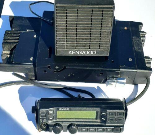Kenwood tk 690h 29.7-37 Mhz w tray Transceiver KCH-11 control w bracket Speaker