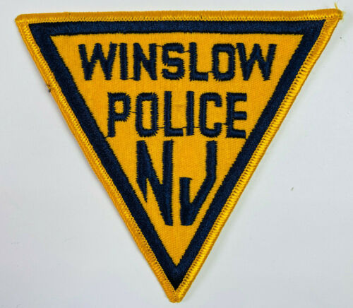 Winslow Township Police Camden County New Jersey NJ Patch (B2A)