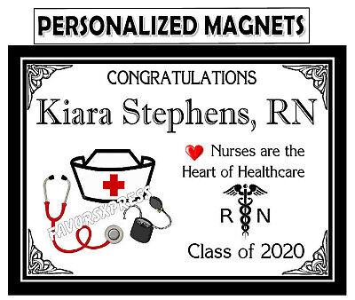 Nurse Party Favors (15 NURSE GRADUATION PARTY FAVORS MAGNETS)
