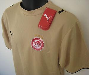BNWT-Puma-Olympiakos-Football-Shirt-Greek-Soccer-Jersey-Trikot-Camisa-Maillot-S