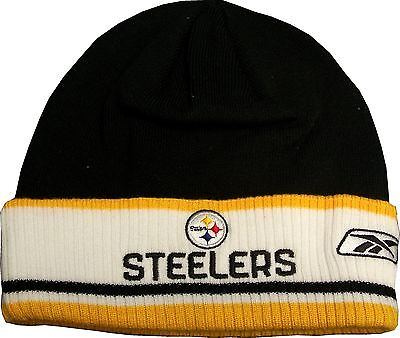 Pittsburgh Steelers Coaches Reebok Knit Hat W/ Cuff on sale