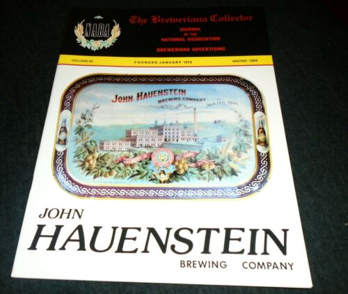 Beer History Book- John Hauenstein Brewery, New Ulm, Minnesota, Hauensteins Beer
