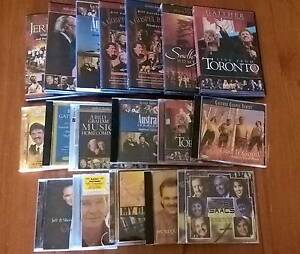 Bulk Lot of Gaither DVDs and CDs - Plus Easters and Isaacs Kendenup Plantagenet Area Preview