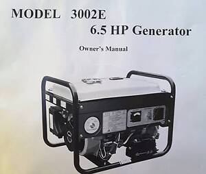 New Generator 6.5 HP Boronia Heights Logan Area Preview
