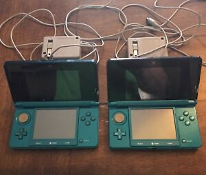 Nintendo 3DS $75 ea. or both for $125.