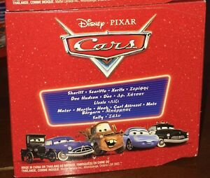 "Disney Pixar cars SUPERCHARGED set ""Radiator Springs"""