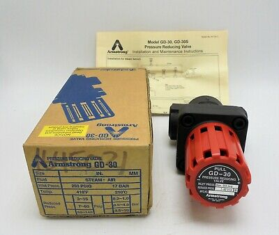 Armstrong Gd-30. Pressure Reducing Valve. 1 Npt