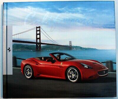 Ferrari California Hardback Brochure Book 2008 English & Italian Text