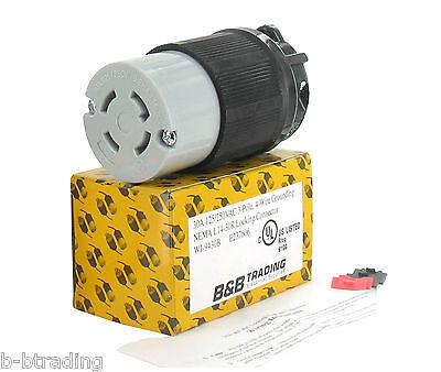 NEMA L14-30 30A 125/250V 3 Pole 4 Wire Grounding Female Cord Connector L14-30R