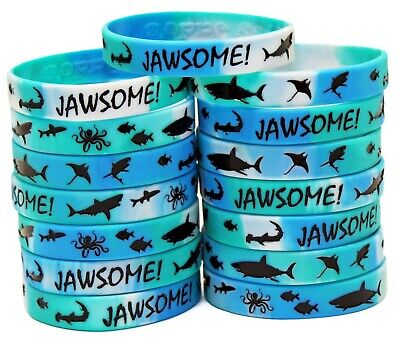 Shark Party Favors - Wristbands for Jawsome! Shark Themed Parties - Pack of 15!](Themes For Party)