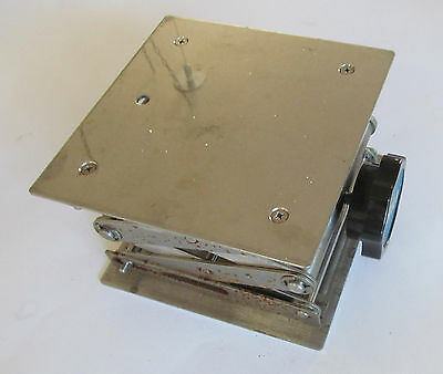 "VWR Stainless Steel Lab Jacks 6""x6"""