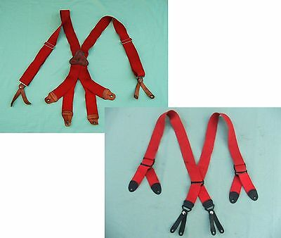 2 Firefighter Adjustable Suspenders