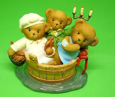 Cherished Teddies Lucas and Joshua and Zachary  Rare New In Box Free Shipping