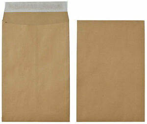 Office Depot Brown Gusset Envelopes - C4 with 25mm Gusset - 115gsm - Box 125 A4