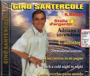 GINO-SANTERCOLE-raro-CD-Il-meglio-ADRIANO-CELENTANO-nuovo-SIGILLATO-sealed-1998