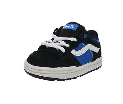 VANS Baxter Black Blue Lace Up Toddler Baby Fashion Sneakers Infant Boys Shoes