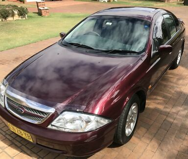 2000 Ford Fairmont Auii Burgundy 4 Speed Automatic Sedan  Cars