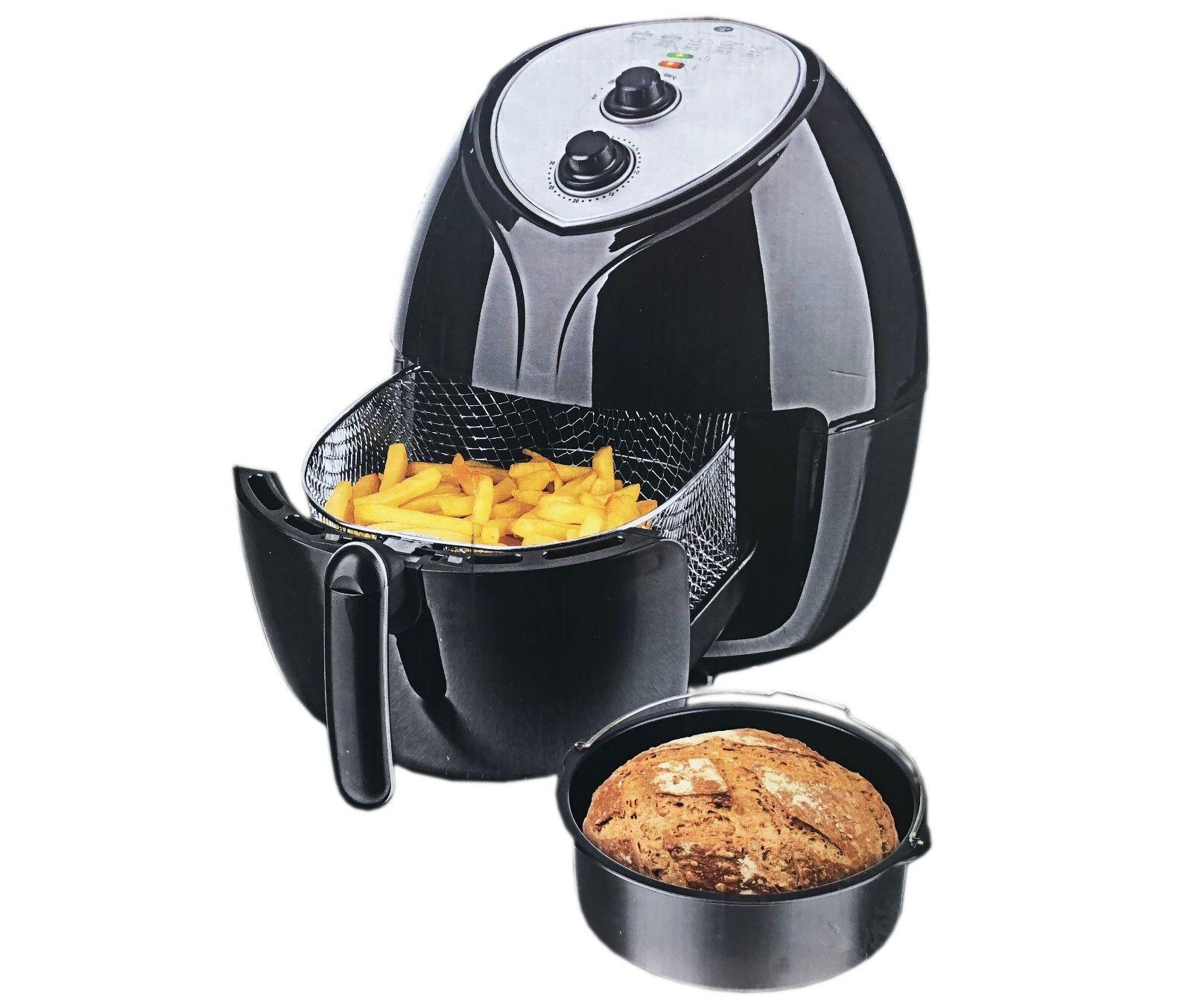 Kochwerk 9/1 Fritteuse Grill Ofen Heissluftfritteuse Brotbackautomat XXL 5,5L S