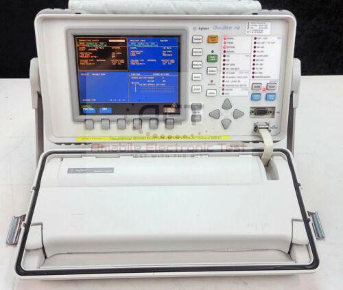 Agilent Keysight 37718B OmniBER 718B Communications Performance Analyzer