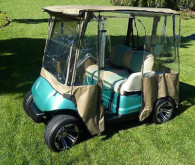 Golf cart enclosure 2 seater exclusively for Yamaha YDR Model - all weather