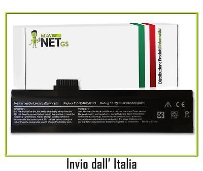 Batteria per Uniwill L51 L51-3S4000-S1P3 da 5200mAh 10.8-11.1V 0842