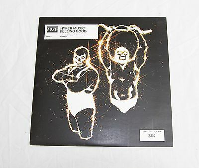 "Muse - Hyper Music/Feeling Good 7"" Single Vinyl - EXTREMELY RARE Limited edition"
