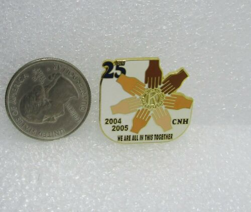 2004-05 Kiwanis International Div 25 CNH We Are All In This Together Pin