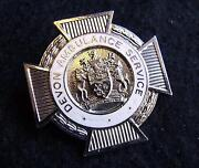 Ambulance Cap Badges