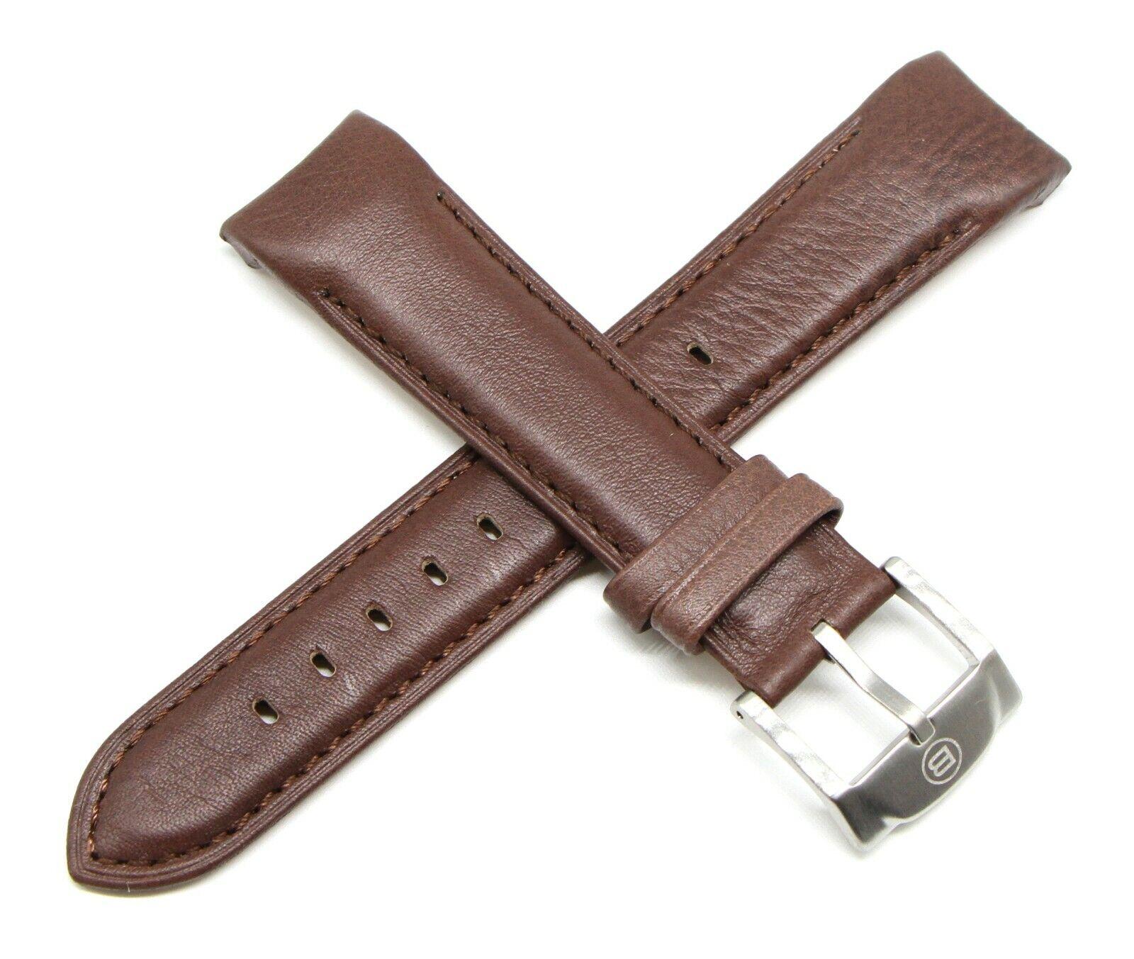 Ben & Sons Uhrband 22 MM Leder Braun für Voyager
