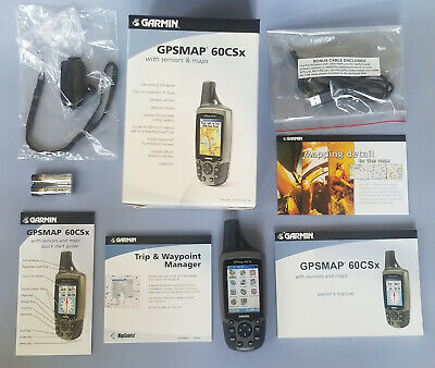 Garmin GPSMAP 60CSx Handheld Seldom Used, Excellent Condition • With Extras!