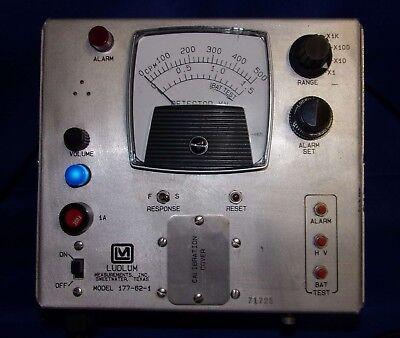 Ludlum 177-62-1 Rack Mount Frisker Geiger Radiation