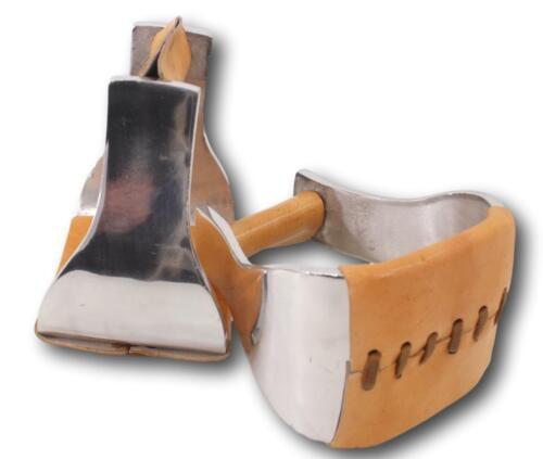 D.A. Brand Extra Wide Aluminum Roper / Trail Stirrups Horse Tack Equine