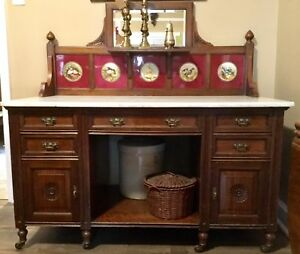 Incredible Victorian washstand