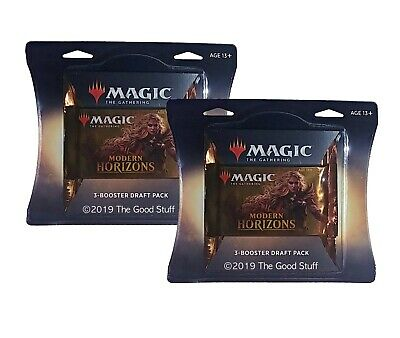 (2) Magic The Gathering - Modern Horizons 3-Booster Draft Packs