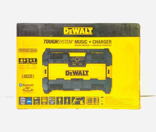 DEWALT ToughSystem Music and Charger System DWST08810 New