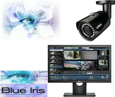Blue Iris NVR SECURITY CAMERA MANAGEMENT SOFTWARE FULL UNLIMITED LICENSE INSTANT