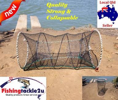 Foldable  Crab Fish Prawn Crawdad Fishing Bait Trap Pot