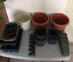 Plant Pots assorted