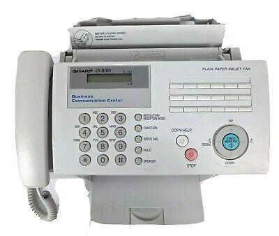 Sharp Ux-b700 Heavy Duty Inkjet Facsimile Fax Machine Printer Tested Works